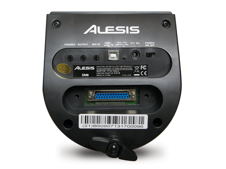 Alesis DM6 USB Kit Module vue arrière
